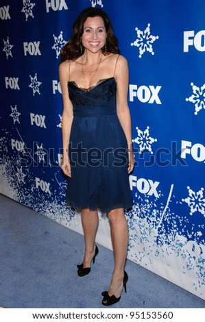 """MINNIE DRIVER - star of """"The Riches"""" - at the Fox All-Star Winter TCA Party in Pasadena. January 20, 2007  Pasadena, CA Picture: Paul Smith / Featureflash - stock photo"""