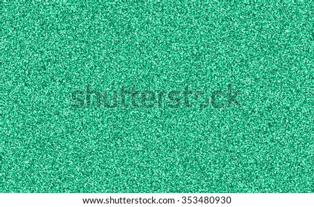 Mint Green Glitter Background Texture