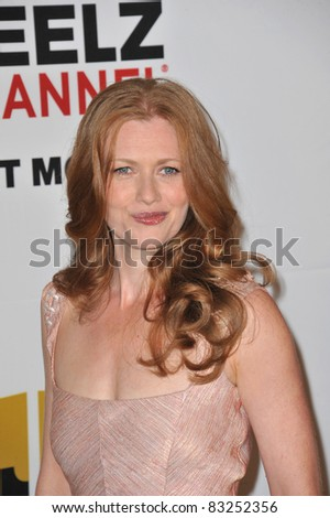 Mireille Enos at the inaugural Critics' Choice Television Awards, by the Broadcast Television Journalists Association, at the Beverly Hills Hotel. 6-20-11, CA Picture: Paul Smith / Featureflash