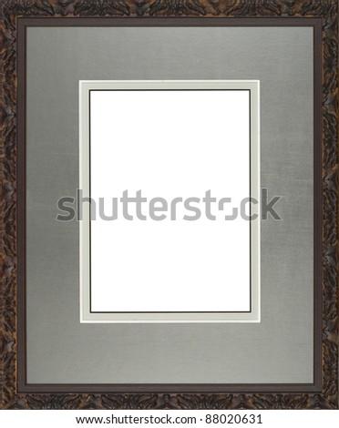 mirror frame - stock photo