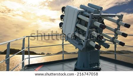 Missile - stock photo