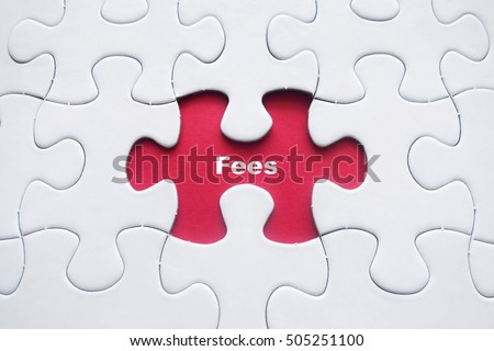 Missing puzzle with Fees word