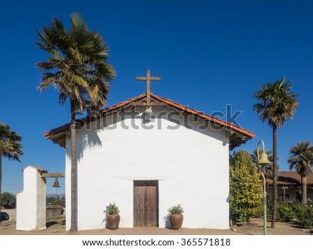 Mission Nuestra Senora de la Soledad is a Spanish mission located near the present-day town of Soledad, California. - stock photo