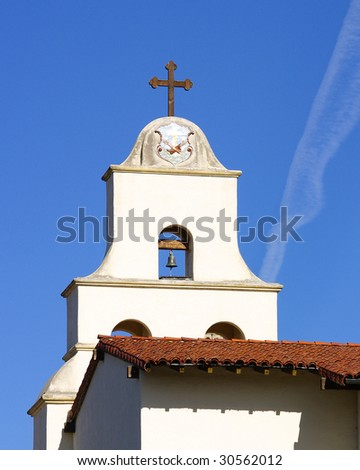 Mission Santa Barbara - stock photo