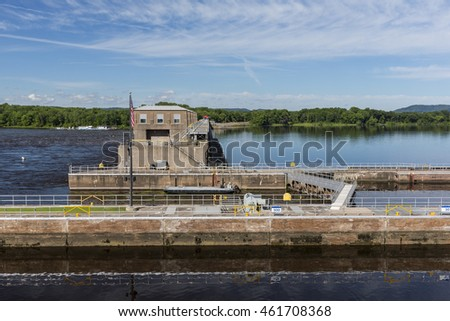 Mississippi River Lock and Dam