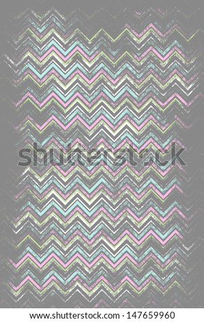 Missoni Stripes - stock photo