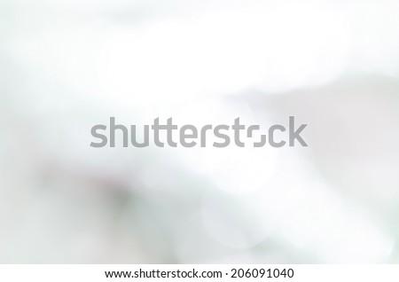 Misty Bokeh - stock photo