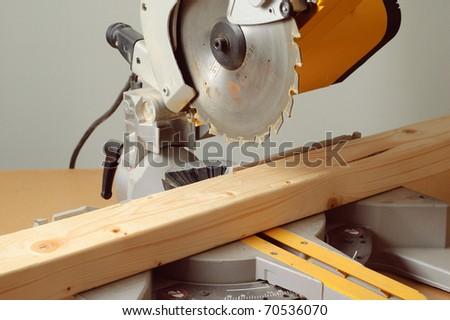 Mitre Saw - stock photo