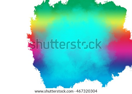 Mix Colored Paint Background