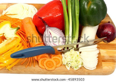 mix of vegetables - stock photo