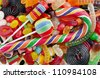 Mixed colorful jelly candies - stock photo