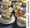 mixed dim sum - stock photo