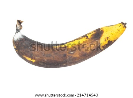 mixed picture of The cycle life of bananas in one week. - stock photo