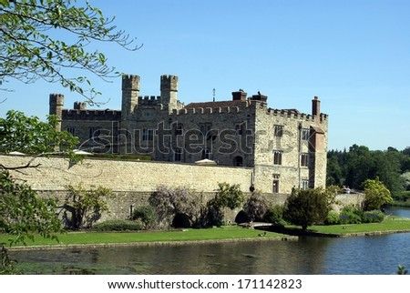 moated castle