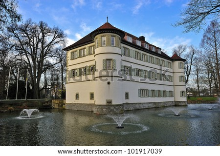 Moated castle Bad Rappenau, Germany