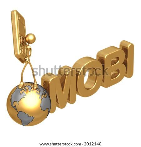 MOBI - stock photo