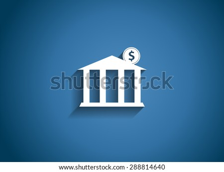 Mobile Bank Concept  Illustration - stock photo