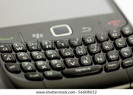 mobile closeup - stock photo