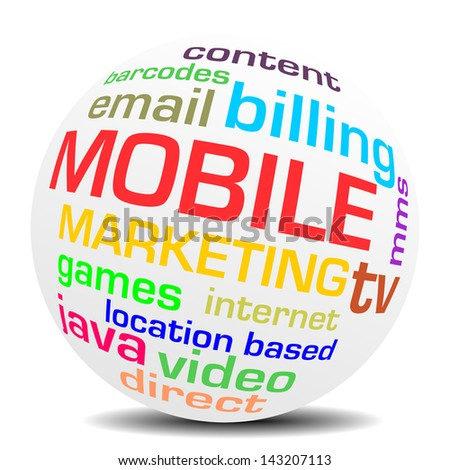 mobile marketing word sphere