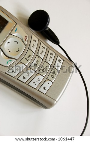 mobile phone # 2 - stock photo