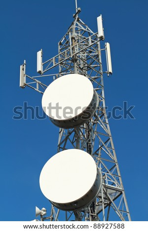 Mobile phone base station - stock photo