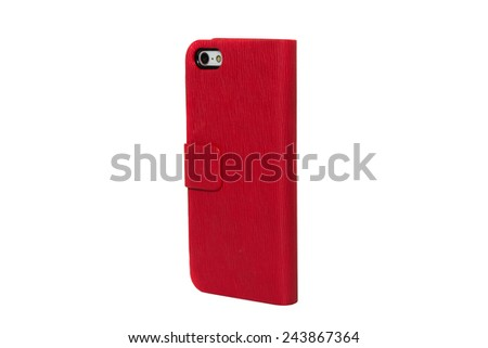 Mobile phone case - stock photo