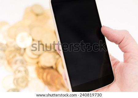 Mobile phone concept - stock photo
