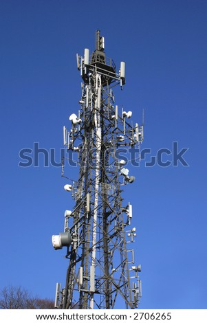 Mobile Phone Mast close up