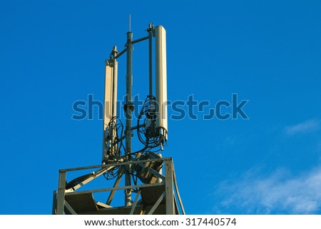 Mobile phone signal repeater equipment