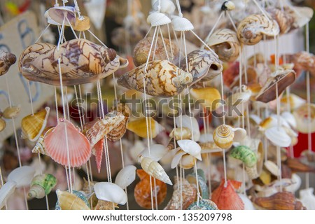 Mobile Shell. - stock photo