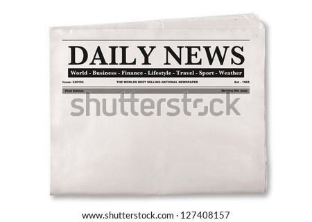 Newspaper Headline Stock Images, Royalty-Free Images & Vectors ...