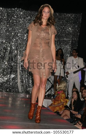 Model at a special red carpet event for New Universal Records artist 'Alexandra'. Ivar, Hollywood, CA. 03-31-09