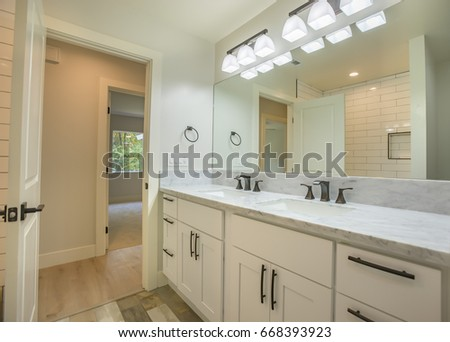 Model Homes Always Show Off Beautiful Stock Photo 668393923 ...