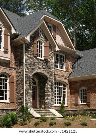 ... Designs Luxury Stone Exterior
