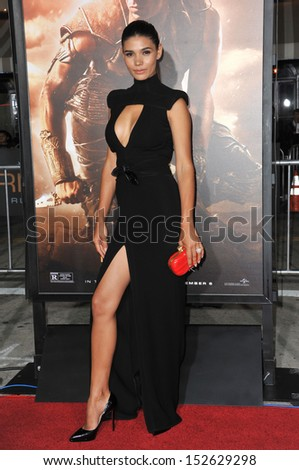 Model paloma jimnez at the world premiere of boyfriend vin diesel s