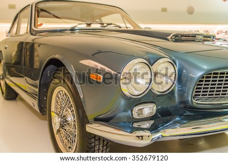 Modena Italy April 2015 Museum Enzo Stock Photo Edit Now Shutterstock