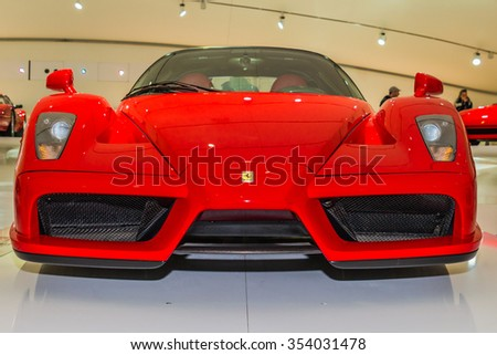 Enzo Ferrari Museum Stock Images, Royalty-Free Images & Vectors ...