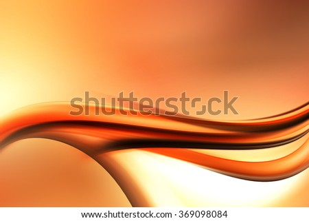 Modern Abstract Gold Wave Design Background