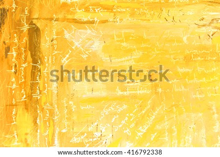 modern abstract painting interior with simulated text, pattern, wallpaper
