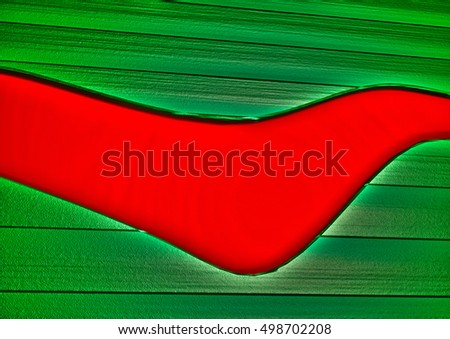 Modern abstract three-dimensional background. 3D render.