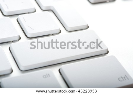 Modern aluminum computer keyboards for computer