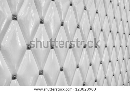 modern and artistic ceramic tile wall background - stock photo