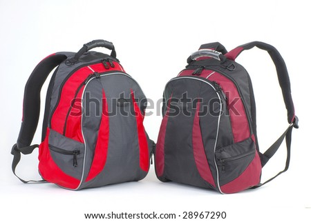 Modern and fashionable backpacks
