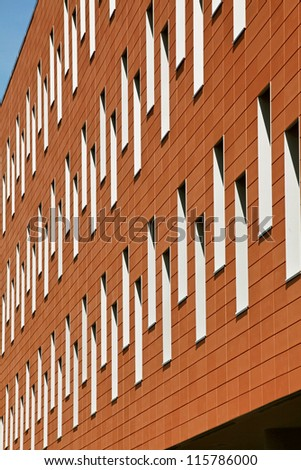 Modern and new apartment - detail - stock photo