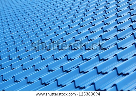 Modern and stylish roof top surface made of plastic & fiber for website backgrounds - stock photo
