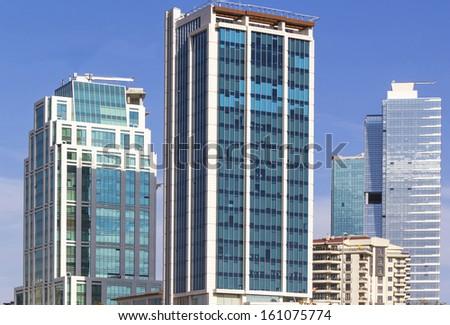 Modern Ankara, Capital city of Turkey. - stock photo