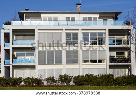 modern apartment design plans. Modern apartment building Apartment Building Stock Images  Royalty Free