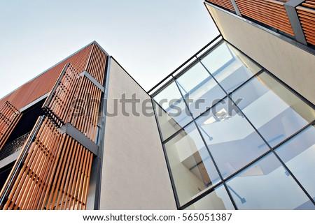 Modern Brick Apartment Building