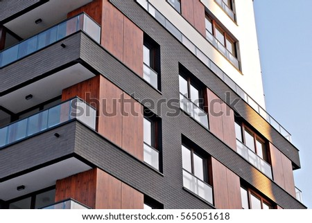 Modern Apartment Building modern apartment building stock images, royalty-free images