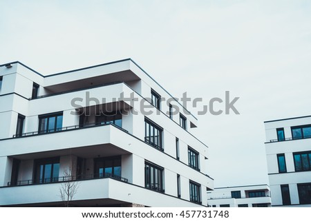 Modern Apartment Balcony Sunset Stock Photo Shutterstock